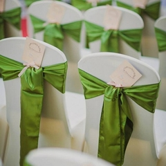 green wedding themes